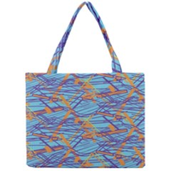 Geometric Line Cable Love Mini Tote Bag by Mariart