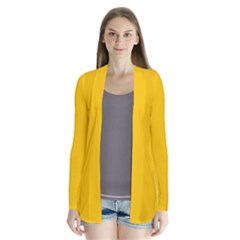 Amber Solid Color  Cardigans by SimplyColor