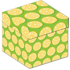 Lime Orange Yellow Green Fruit Storage Stool 12   by Mariart