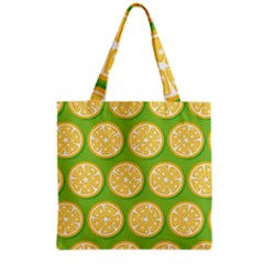 Lime Orange Yellow Green Fruit Grocery Tote Bag by Mariart