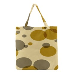 Polka Dots Grocery Tote Bag by Mariart