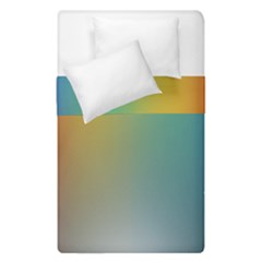 Rainbow Flag Simple Duvet Cover Double Side (single Size) by Mariart