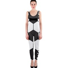 Soccer Camp Splat Ball Sport Onepiece Catsuit by Mariart