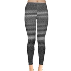 Shadow Faintly Faint Line Included Static Streaks And Blotches Color Gray Leggings  by Mariart