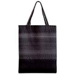 Shadow Faintly Faint Line Included Static Streaks And Blotches Color Gray Zipper Classic Tote Bag by Mariart