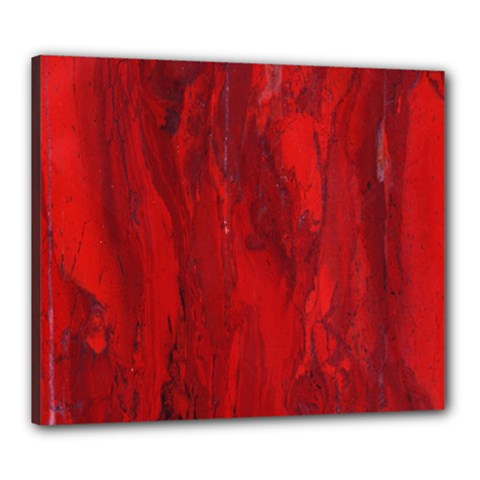 Stone Red Volcano Canvas 24  X 20  by Mariart