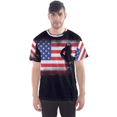 Honor Our Heroes On Memorial Day Men s Sports Mesh Tee by Catifornia