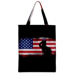 Honor Our Heroes On Memorial Day Classic Tote Bag by Catifornia