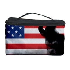 Honor Our Heroes On Memorial Day Cosmetic Storage Case by Catifornia