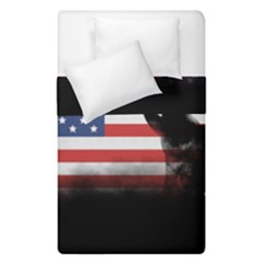 Honor Our Heroes On Memorial Day Duvet Cover Double Side (single Size) by Catifornia