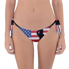 Honor Our Heroes On Memorial Day Reversible Bikini Bottom