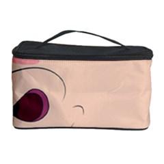 Happy Cartoon Baby Hippo Cosmetic Storage Case by Catifornia