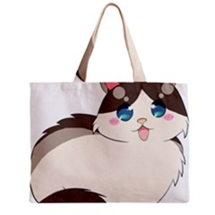 Ragdoll Cat For Life Zipper Mini Tote Bag by Catifornia
