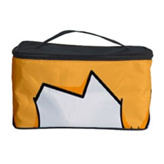 Yellow Cat Egg Cosmetic Storage Case by Catifornia
