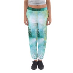 Turquoise River Women s Jogger Sweatpants by theunrulyartist