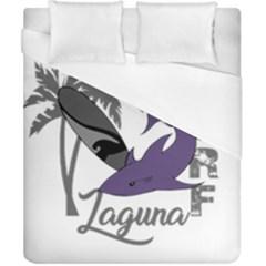 Surf   Laguna Duvet Cover (california King Size) by Valentinaart