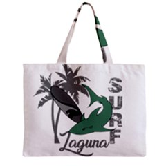 Surf   Laguna Zipper Mini Tote Bag by Valentinaart