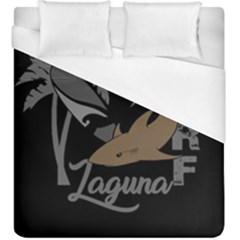 Surf   Laguna Duvet Cover (king Size) by Valentinaart