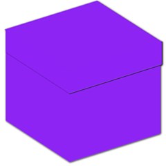 Neon Purple Solid Color  Storage Stool 12   by SimplyColor