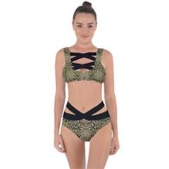 Cat Bandaged Up Bikini Set