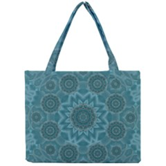 Wood And Stars In The Blue Pop Art Mini Tote Bag by pepitasart