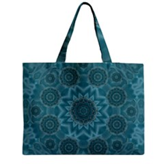 Wood And Stars In The Blue Pop Art Medium Tote Bag by pepitasart