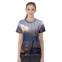 Sailing Into The Storm Women s Sport Mesh Tee