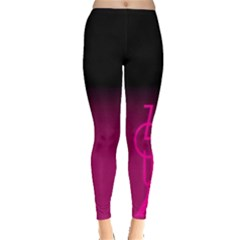 Zouk Pink/purple Women s Leggings by UnicornFashion