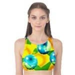 COLORS OF BRAZIL  Tank Bikini Top