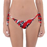 Red HOt Camo Reversible Bikini Bottom