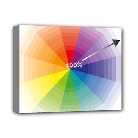 Colour Value Diagram Circle Round Deluxe Canvas 14  X 11  by Mariart