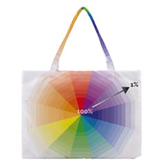 Colour Value Diagram Circle Round Medium Tote Bag by Mariart