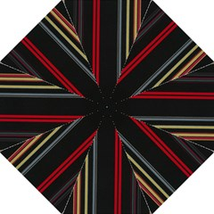 Stripes Line Black Red Straight Umbrellas by Mariart