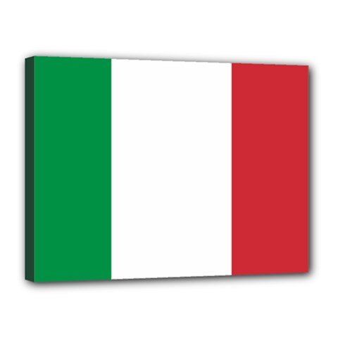 National Flag Of Italy  Canvas 16  X 12  by abbeyz71