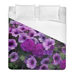 Wonderful Lilac Flower Mix Duvet Cover (full/ Double Size) by MoreColorsinLife