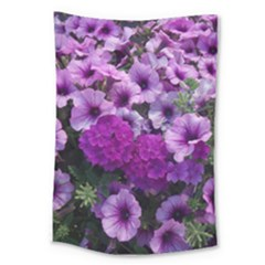 Wonderful Lilac Flower Mix Large Tapestry by MoreColorsinLife