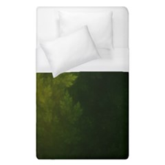 Beautiful Fractal Pines In The Misty Spring Night Duvet Cover (single Size) by jayaprime