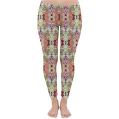 Illustrator Photoshop Watercolor Ink Gouache Color Pencil Classic Winter Leggings by Mariart