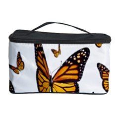Butterfly Spoonflower Cosmetic Storage Case by Mariart