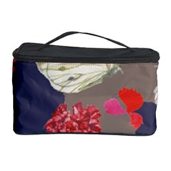 Original Butterfly Carnation Cosmetic Storage Case by Mariart