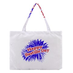Happy Bastille Day Graphic Logo Medium Tote Bag by dflcprints