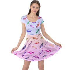 Colorful Candy Cap Sleeve Dress by twirlsandswirlsdesigns
