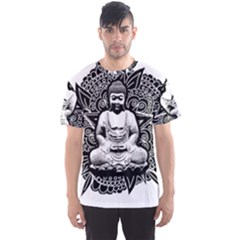 Ornate Buddha Men s Sports Mesh Tee by Valentinaart