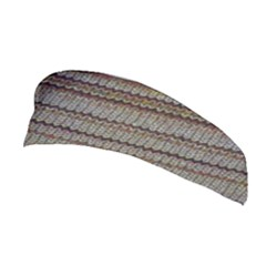 Stripy Knitted Wool Fabric Texture Stretchable Headband by BangZart