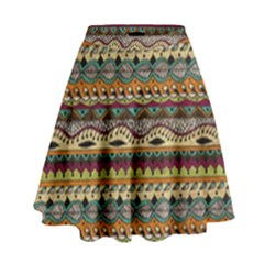 Aztec Pattern High Waist Skirt by BangZart
