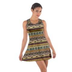 Aztec Pattern Cotton Racerback Dress