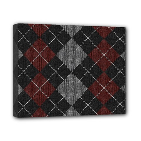 Wool Texture With Great Pattern Canvas 10  X 8  by BangZart