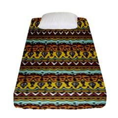 Bohemian Fabric Pattern Fitted Sheet (single Size) by BangZart