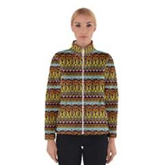 Bohemian Fabric Pattern Winterwear