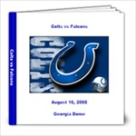 Colts vs Falcons - 8x8 Photo Book (30 pages)